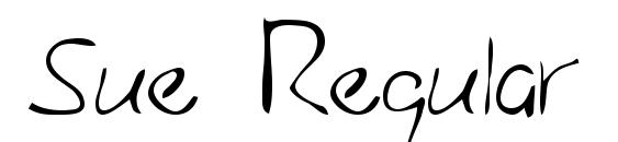 Sue Regular Font