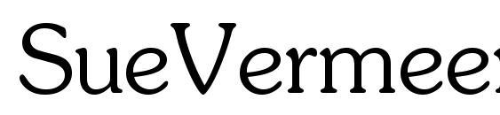 Шрифт SueVermeer4 LightSH