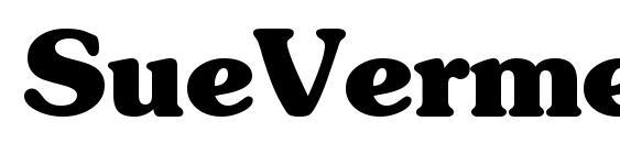 SueVermeer7 BoldSH Font
