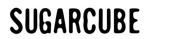 Шрифт SugarCube