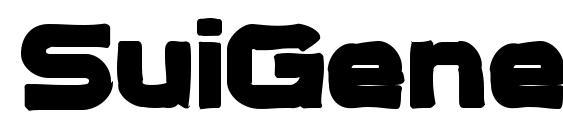 SuiGenerisInk Font