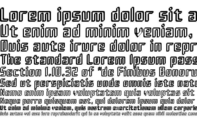 specimens Sujeta 3D font, sample Sujeta 3D font, an example of writing Sujeta 3D font, review Sujeta 3D font, preview Sujeta 3D font, Sujeta 3D font