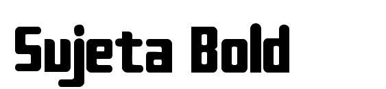 Шрифт Sujeta Bold