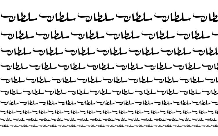 specimens sultan free font, sample sultan free font, an example of writing sultan free font, review sultan free font, preview sultan free font, sultan free font