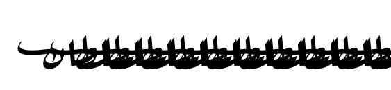 Sultan light Font