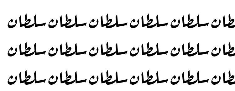 глифы шрифта Sultan normal, символы шрифта Sultan normal, символьная карта шрифта Sultan normal, предварительный просмотр шрифта Sultan normal, алфавит шрифта Sultan normal, шрифт Sultan normal