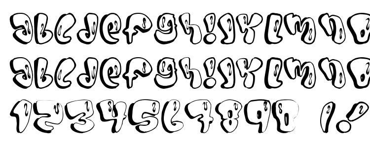 глифы шрифта SUMO, символы шрифта SUMO, символьная карта шрифта SUMO, предварительный просмотр шрифта SUMO, алфавит шрифта SUMO, шрифт SUMO