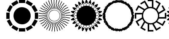Шрифт Sundings 2 jl