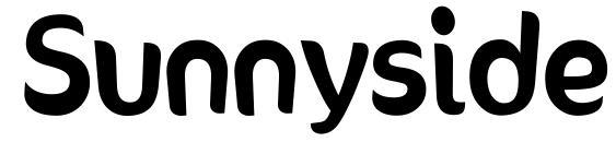 Sunnyside Font