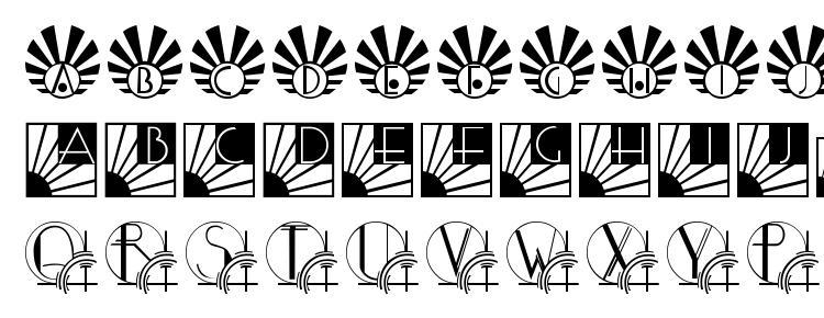 глифы шрифта SunriseSunset, символы шрифта SunriseSunset, символьная карта шрифта SunriseSunset, предварительный просмотр шрифта SunriseSunset, алфавит шрифта SunriseSunset, шрифт SunriseSunset