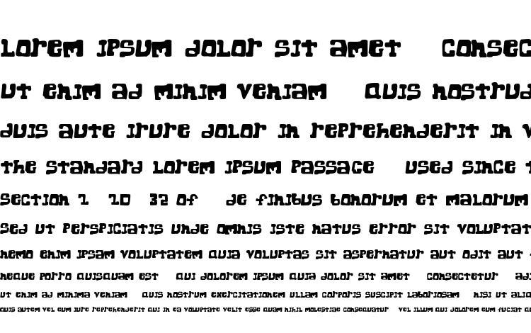 specimens Super chunk regular font, sample Super chunk regular font, an example of writing Super chunk regular font, review Super chunk regular font, preview Super chunk regular font, Super chunk regular font