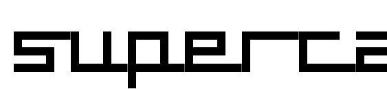Supercar font, free Supercar font, preview Supercar font