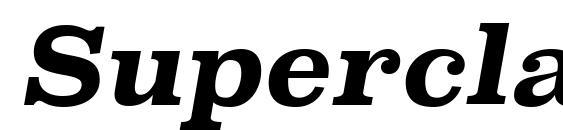 шрифт SuperclarendonRg BoldItalic, бесплатный шрифт SuperclarendonRg BoldItalic, предварительный просмотр шрифта SuperclarendonRg BoldItalic
