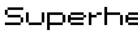 Superhelio extended ultra Font