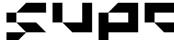 Шрифт Superload