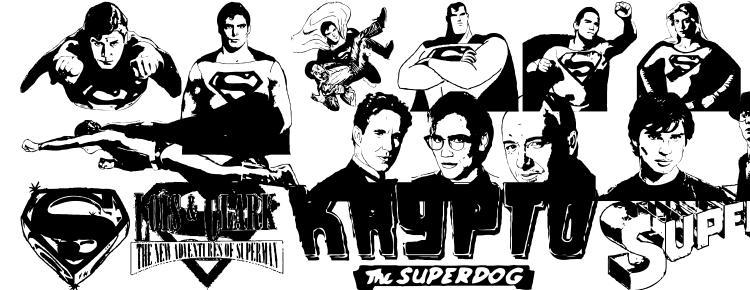 глифы шрифта Superman last son of krypton super, символы шрифта Superman last son of krypton super, символьная карта шрифта Superman last son of krypton super, предварительный просмотр шрифта Superman last son of krypton super, алфавит шрифта Superman last son of krypton super, шрифт Superman last son of krypton super