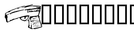 Шрифт Supermattbatz