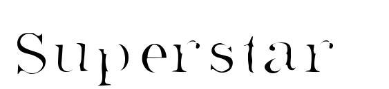 Шрифт Superstar