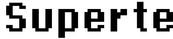 Supertext 03 bold Font