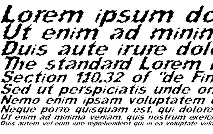 specimens Surf Punx Italic font, sample Surf Punx Italic font, an example of writing Surf Punx Italic font, review Surf Punx Italic font, preview Surf Punx Italic font, Surf Punx Italic font
