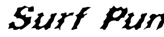 Шрифт Surf Punx Italic