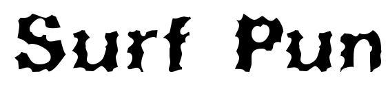 Шрифт Surf Punx