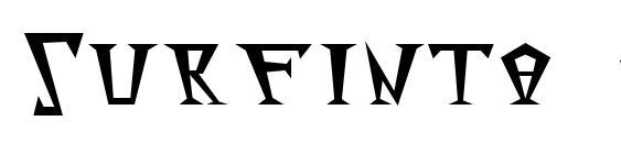 шрифт Surfinta mars, бесплатный шрифт Surfinta mars, предварительный просмотр шрифта Surfinta mars