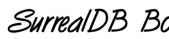 Шрифт SurrealDB Bold