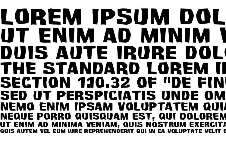 образцы шрифта Survivant, образец шрифта Survivant, пример написания шрифта Survivant, просмотр шрифта Survivant, предосмотр шрифта Survivant, шрифт Survivant