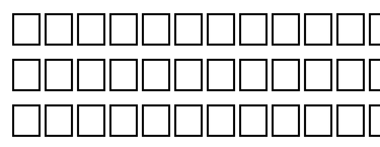 глифы шрифта Svfwfo, символы шрифта Svfwfo, символьная карта шрифта Svfwfo, предварительный просмотр шрифта Svfwfo, алфавит шрифта Svfwfo, шрифт Svfwfo
