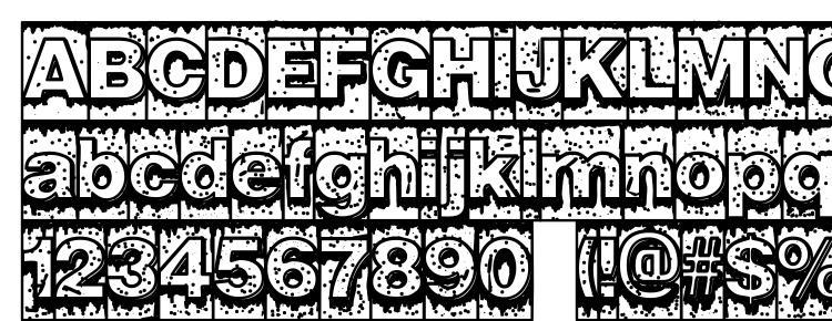 glyphs Swamp Type font, сharacters Swamp Type font, symbols Swamp Type font, character map Swamp Type font, preview Swamp Type font, abc Swamp Type font, Swamp Type font
