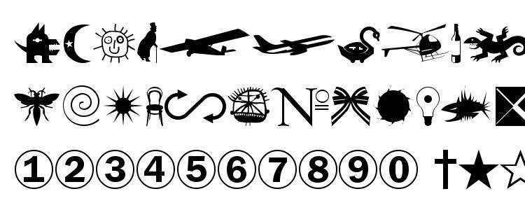 глифы шрифта Swan normal, символы шрифта Swan normal, символьная карта шрифта Swan normal, предварительный просмотр шрифта Swan normal, алфавит шрифта Swan normal, шрифт Swan normal