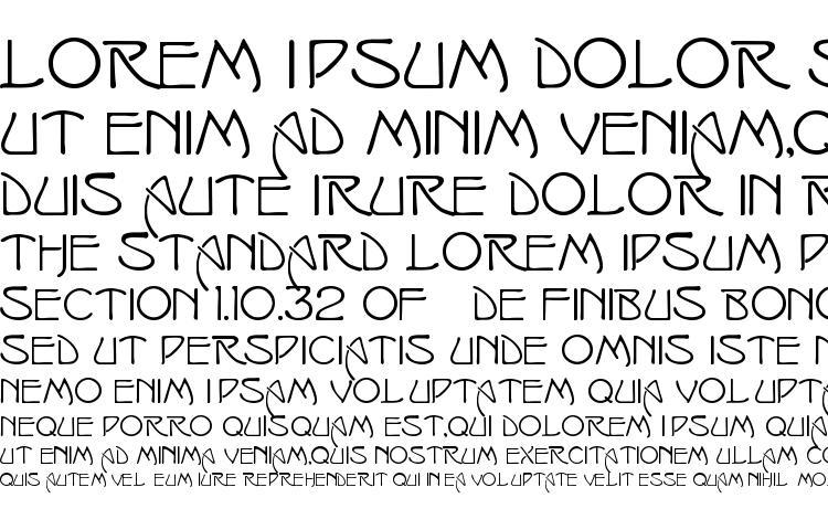 specimens Swansea font, sample Swansea font, an example of writing Swansea font, review Swansea font, preview Swansea font, Swansea font