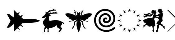 Swansymbolc Font