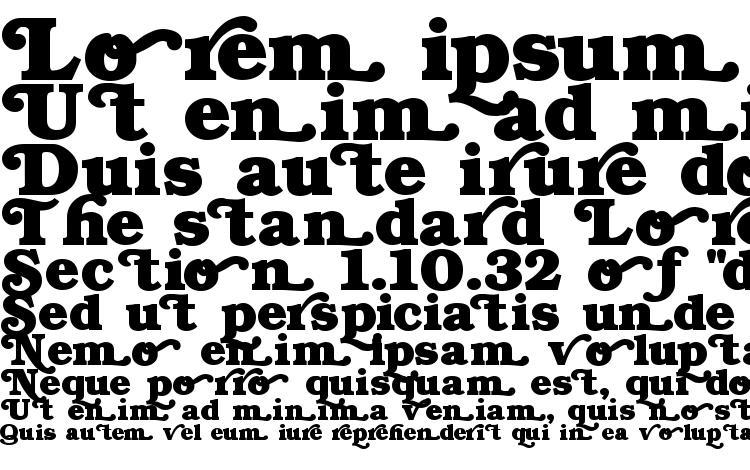 specimens Swash Normal font, sample Swash Normal font, an example of writing Swash Normal font, review Swash Normal font, preview Swash Normal font, Swash Normal font