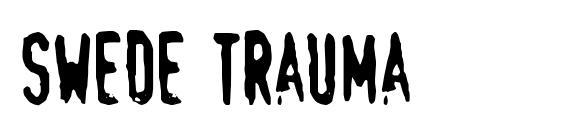Шрифт Swede trauma