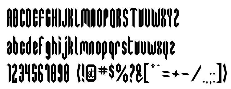 глифы шрифта SwedieCruel, символы шрифта SwedieCruel, символьная карта шрифта SwedieCruel, предварительный просмотр шрифта SwedieCruel, алфавит шрифта SwedieCruel, шрифт SwedieCruel