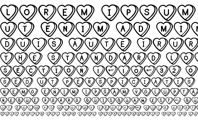 specimens Sweet hearts bv font, sample Sweet hearts bv font, an example of writing Sweet hearts bv font, review Sweet hearts bv font, preview Sweet hearts bv font, Sweet hearts bv font