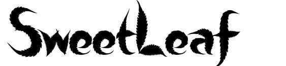 Шрифт SweetLeaf