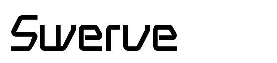 Шрифт Swerve