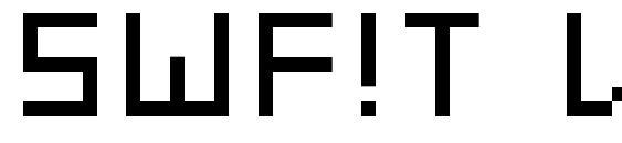 Шрифт SWF!T v01