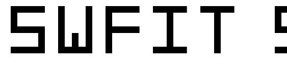 Swfit slm fw Font