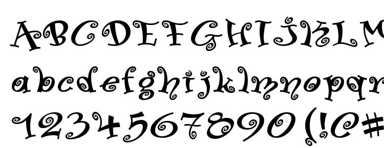 glyphs Swinger Medium font, сharacters Swinger Medium font, symbols Swinger Medium font, character map Swinger Medium font, preview Swinger Medium font, abc Swinger Medium font, Swinger Medium font