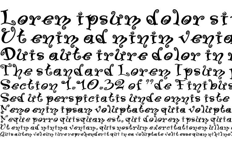 specimens Swinger Medium font, sample Swinger Medium font, an example of writing Swinger Medium font, review Swinger Medium font, preview Swinger Medium font, Swinger Medium font