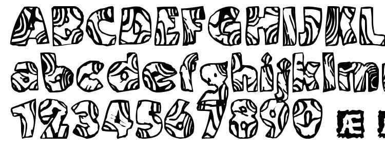 глифы шрифта Swirled (BRK), символы шрифта Swirled (BRK), символьная карта шрифта Swirled (BRK), предварительный просмотр шрифта Swirled (BRK), алфавит шрифта Swirled (BRK), шрифт Swirled (BRK)