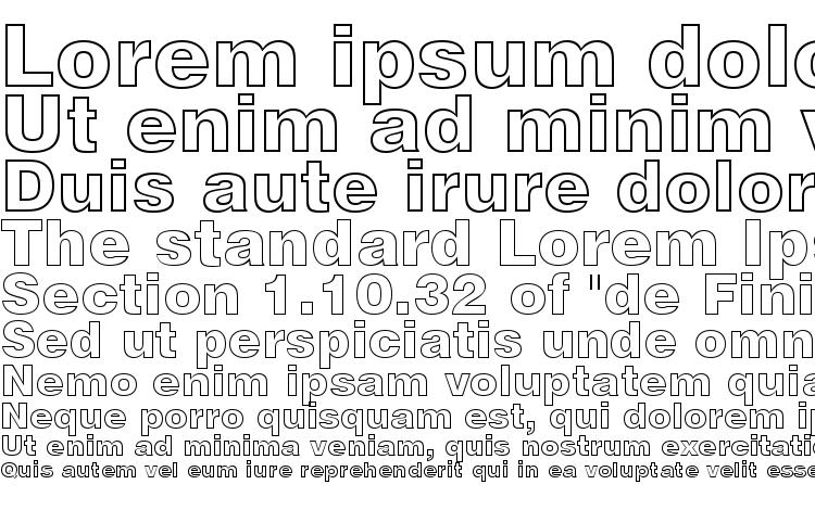 specimens Swiss 721 Black Outline BT font, sample Swiss 721 Black Outline BT font, an example of writing Swiss 721 Black Outline BT font, review Swiss 721 Black Outline BT font, preview Swiss 721 Black Outline BT font, Swiss 721 Black Outline BT font