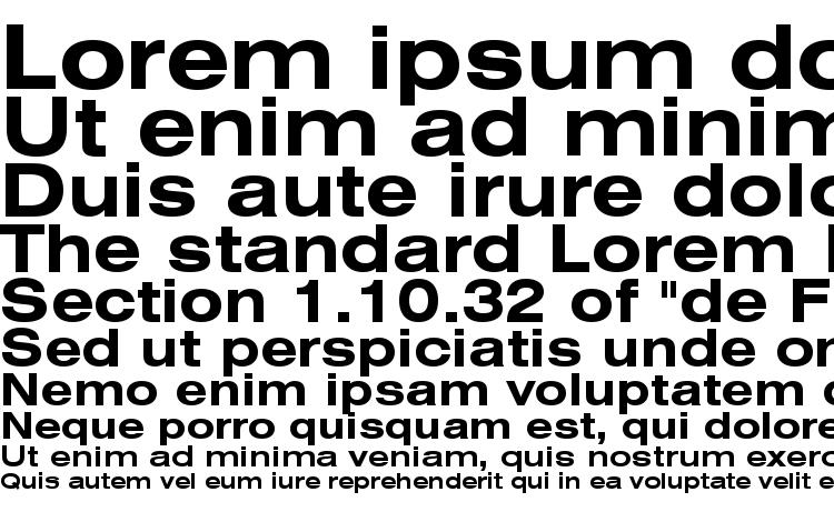 Swiss 721 Bold font
