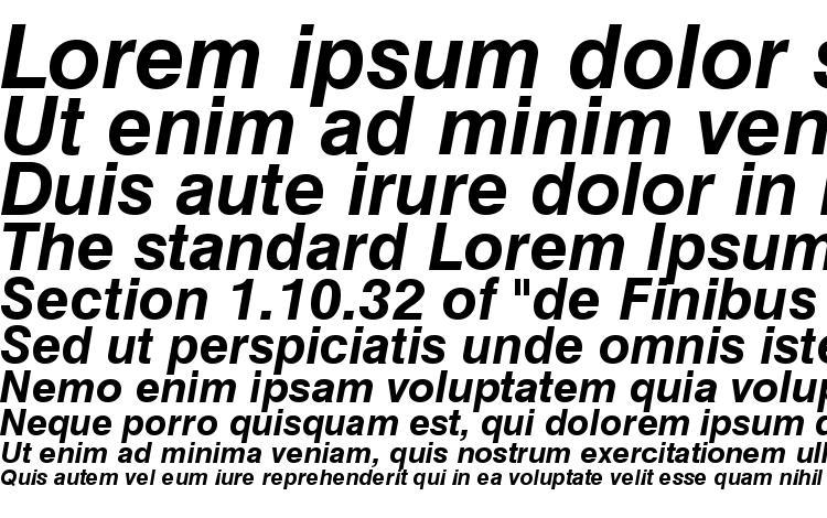 specimens Swiss 721 Bold Italic Win95BT font, sample Swiss 721 Bold Italic Win95BT font, an example of writing Swiss 721 Bold Italic Win95BT font, review Swiss 721 Bold Italic Win95BT font, preview Swiss 721 Bold Italic Win95BT font, Swiss 721 Bold Italic Win95BT font