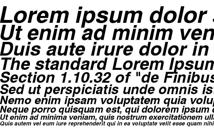 specimens Swiss 721 Bold Oblique SWA font, sample Swiss 721 Bold Oblique SWA font, an example of writing Swiss 721 Bold Oblique SWA font, review Swiss 721 Bold Oblique SWA font, preview Swiss 721 Bold Oblique SWA font, Swiss 721 Bold Oblique SWA font