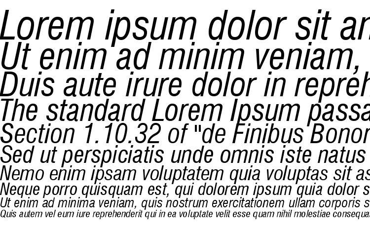 specimens Swiss 721 Condensed Italic BT font, sample Swiss 721 Condensed Italic BT font, an example of writing Swiss 721 Condensed Italic BT font, review Swiss 721 Condensed Italic BT font, preview Swiss 721 Condensed Italic BT font, Swiss 721 Condensed Italic BT font